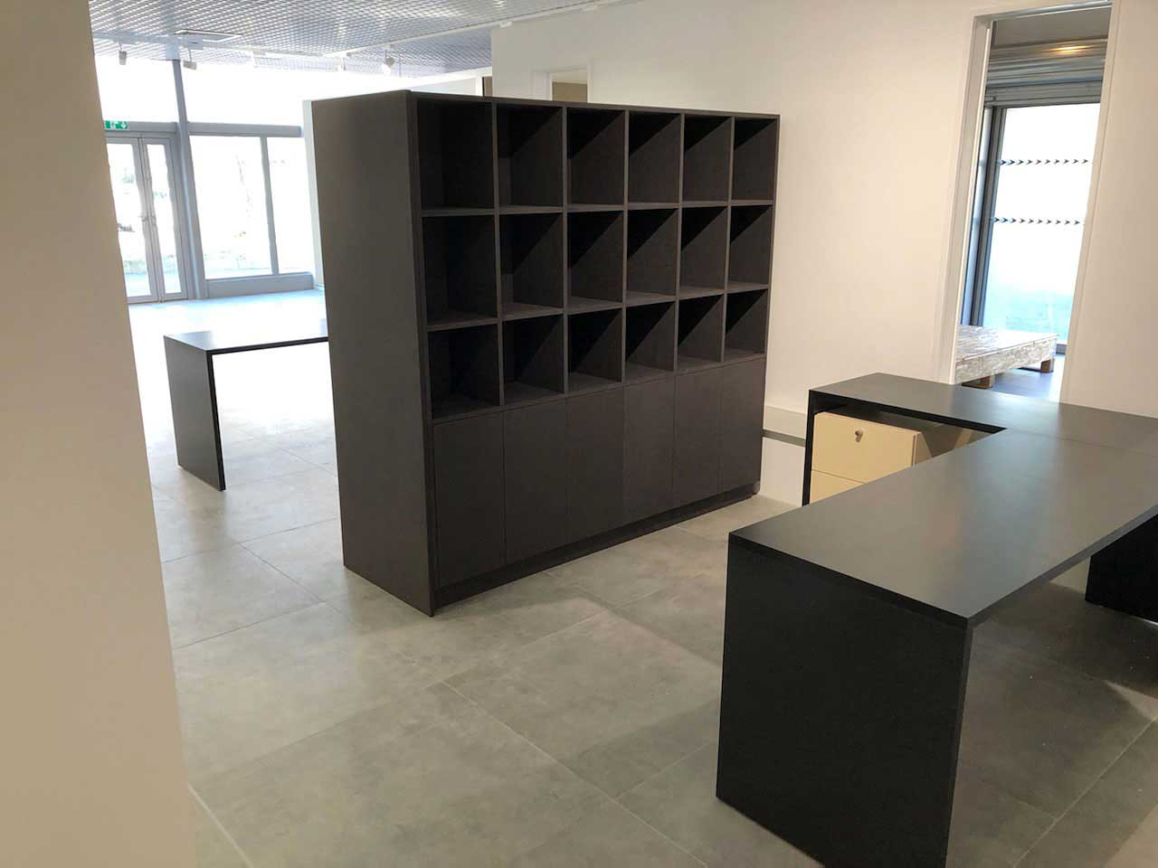 Bureau et armoire sur-mesure