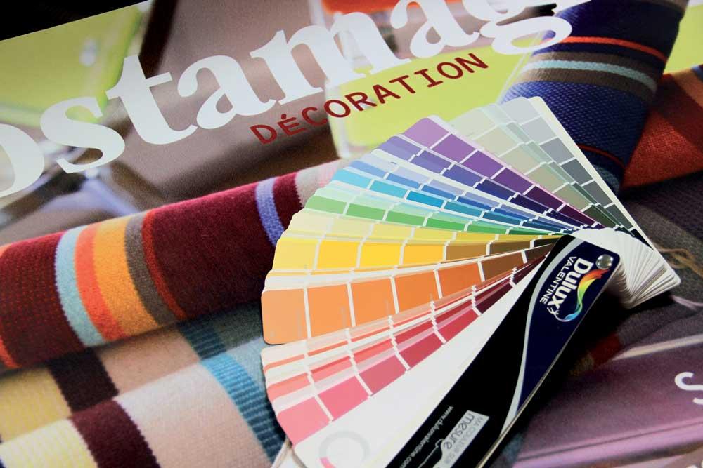 Des couleurs sur-mesure.